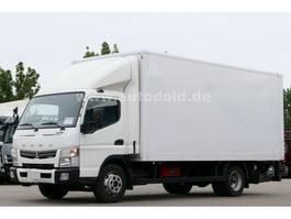 closed box truck > 7.5 t Mitsubishi Fuso 7C15 Koffer Ladebordwand Euro 5 2013