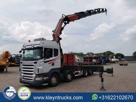 platform truck Scania R440 fassi f660 axp26,8x2 2009