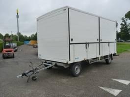 closed box car trailer barents BL 2600 2DS podiumwagen verkoopwagen 1999