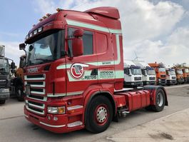тягач для перевозки опасных материалов Scania R420 HL-ADR-Opticruise-Retarder -Ad-blue 2010
