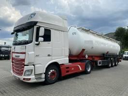feed semi trailer Feldbinder KIP 57.3 Silo 57.000 L 3 Achse ADR *Zugm. DAF 2008