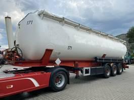 feed semi trailer Feldbinder KIP 57.3 Silo 57.000 L 3 Achse ADR 2008