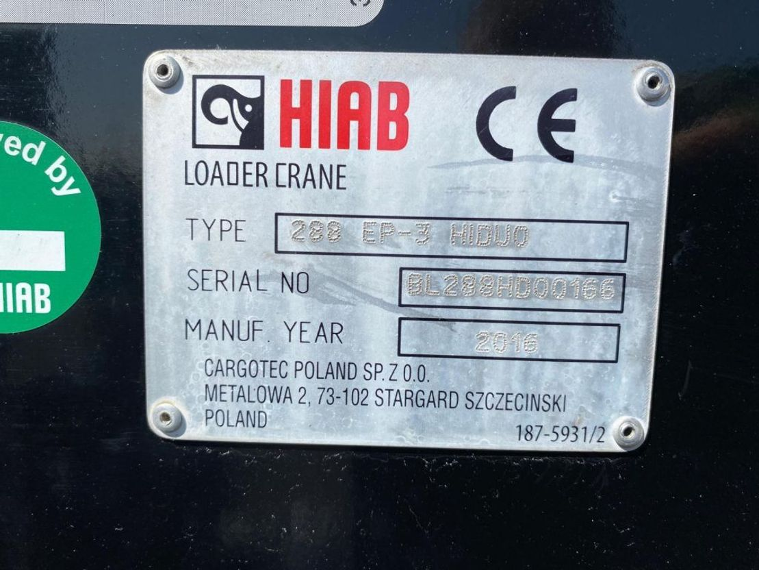 Kranwagen Renault K 460 8X4 OPEN BOX + HIAB 288 EP-3 HIDUO KRAAN/KRAN/CRANE/GRUA 2016