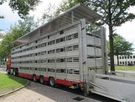 livestock semi trailer Pezzaioli SBA 31 G 2019