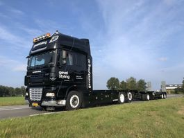 drop side truck DAF XF460 SSC + AHW low km like new condition 2008