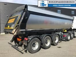 tipper semi trailer Meiller MHPS 16/27 NOSS1 Geïsoleerde asfaltkipper met kleppen 2019