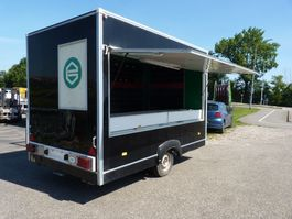 closed box car trailer verkoopwagen gesloten