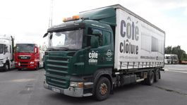 sliding curtain truck Scania R420 2008