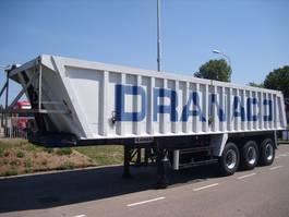 tipper semi trailer Kaiser ALU TIPPER  32 m3  CHASSIS STEEL+SAF+LIFT 2002