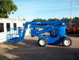 articulated boom lift wheeled Upright AB-46 1998