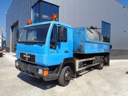 asphalt heater MAN 12.163 Bitumen Sprayer - Hookarm System 2000