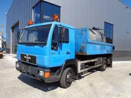 Asphaltkocher MAN 12.163 Bitumen Sprayer - Hookarm System 2000