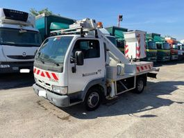 mounted boom lift truck Nissan CABSTAR.E 120 2004