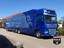 refrigerated truck DAF XF 105 460 / Bloemen verkoop / Raceteam Thermo King  Retarder / NEW COND... 2008