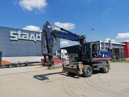 wheeled excavator Doosan DX210W 2014