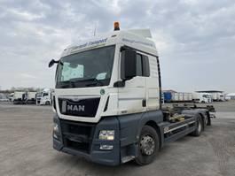 swap body truck MAN TGX  TGX 26.440, Multiwechsler + Ladebordwand 3 Achs BDF Wechselsystem 2013