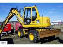 wheeled excavator Komatsu PW 110 R 2004