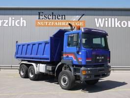 tipper truck > 7.5 t MAN 27.414 DFAK 6x6, Meiller Kipper, Blatt, Klima 2002