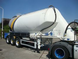 feed semi trailer Feldbinder silo 3 axel with dust filter 2011