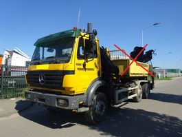 container truck Mercedes-Benz 2631 SK 6X2 !! MANUAL + STEEL !! 1996