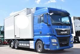 refrigerated truck MAN TGX 26.440 E6 XLX Schmitz Carrier LBW Bi-Temp 2013