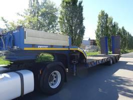 lowloader semi trailer Kaiser KAISER LOWBED 57000 KG STEELSUSPENSION !! 2006