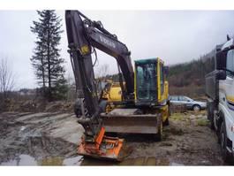 wheeled excavator Volvo EW 140 B hjulgraver 2004