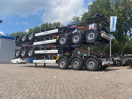 container chassis semi trailer Krone Diverse 3 as 40/45ft containerchassis (nieuw) - nieuwe (levering Juni) 2020