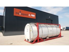 Tankcontainer Van Hool 20FT, swapbody TC 30.856L, L4BN, IMO-4, valid 5Y inspection till 03/2021 1999
