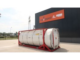 Tankcontainer Van Hool 20FT, swapbody TC 30.856L, L4BN, IMO-4, valid 5Y inspection till 09/2021 1999