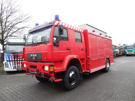 tank truck MAN LE 18.280 4X4 FEUERWEHR 2001