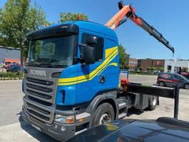 cab over engine Scania R400 4x2 EURO 5 MET RETARDER + PALFINGER PK18002 MET REMOTE 2012