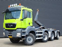 container truck MAN TGS 43.440 8x6 ABROLKIPPER / HOOKLIFT 2012