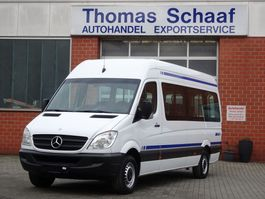 Minivan - Personenwagen Mercedes Benz Sprinter 313 Cdi Maxi 9 Sitze Klima Rollstuhllift 6 Gang Euro 5 2020