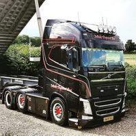 cab over engine Volvo FH540 XL Full options 2018