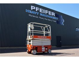 scissor lift wheeld Upright MX19 Electric, 7.8m Working Height, Non Marking Ty 2006