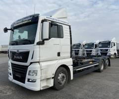 swap body truck MAN TGX  TGX 26.460 LL Jumbo, Multiwechsler 3 Achs BDF Wechselsystem 2017