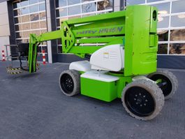articulated boom lift wheeled Niftylift HR 15 N 2014
