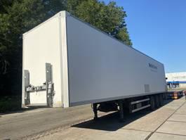 closed box semi trailer Groenewegen SAF, 2x Lftachse, LBW 2006