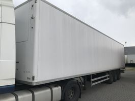 closed box semi trailer Samro S338DHPF.   Ex Frigo  MB Assen 1999