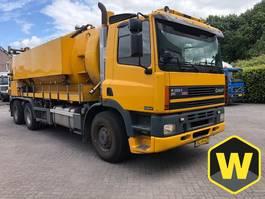 vacuum truck Ginaf M 3233-S Manual 6x4 EURO 2 Vacuum 20.000 liter 2001