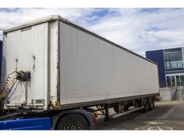 closed box semi trailer Samro CAISSE FOURGON 1997