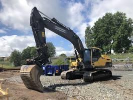 crawler excavator Volvo EC250DL 2012