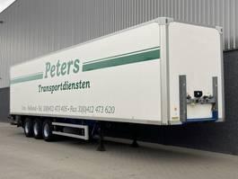 closed box semi trailer Groenewegen Kastentrailer BPW Drumbrakes LBW / KLEP NL Trailer 1360x250x270cm 2005