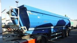 tipper semi trailer Meiller 28 m³ hardox kipper 2011