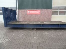Wechselbrücke Box-Container N4570, containerflat