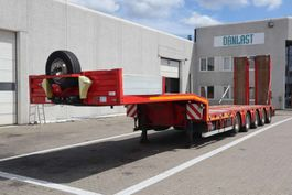 drop side semi trailer Kel-Berg maskintrailer 2014