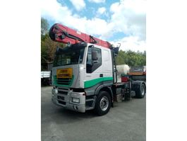 timber truck Iveco STRALIS 480hp WITH EPSILON CRANE 2005