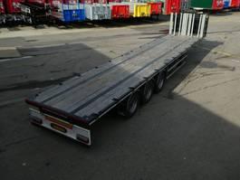 flatbed semi trailer SDC THREE AXLE SEMI TRAILER 2018