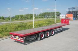flatbed semi trailer Samro plateau flatbed 2000
